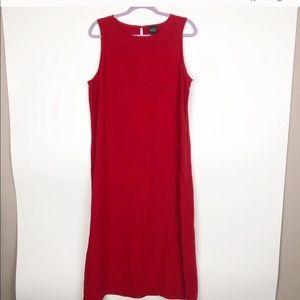 Eileen Fischer Linen Maxi Dress.